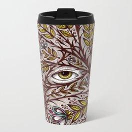 Golden Eye Metal Travel Mug
