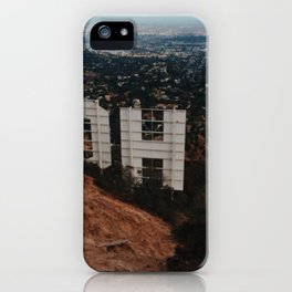 Hollywood Hills iPhone Case