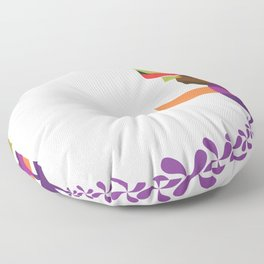 Flowers of Simele Floor Pillow