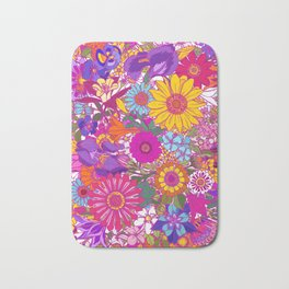 Summer Garden 2. Flower Power Bath Mat