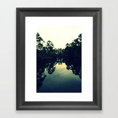 Reflection Swamp Framed Art Print