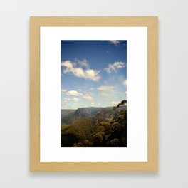 The Blue Mountains Framed Art Print