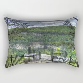 Out On a Ledge Rectangular Pillow