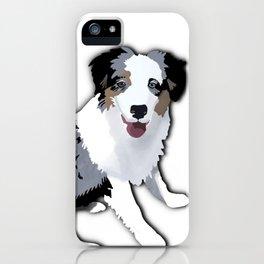 Sadie the Australian Shepherd iPhone Case