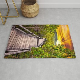 Mangrove Forest Sunset Rug