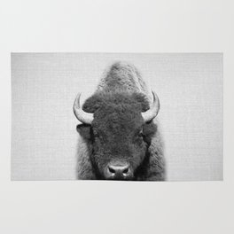 Buffalo - Black & White Rug