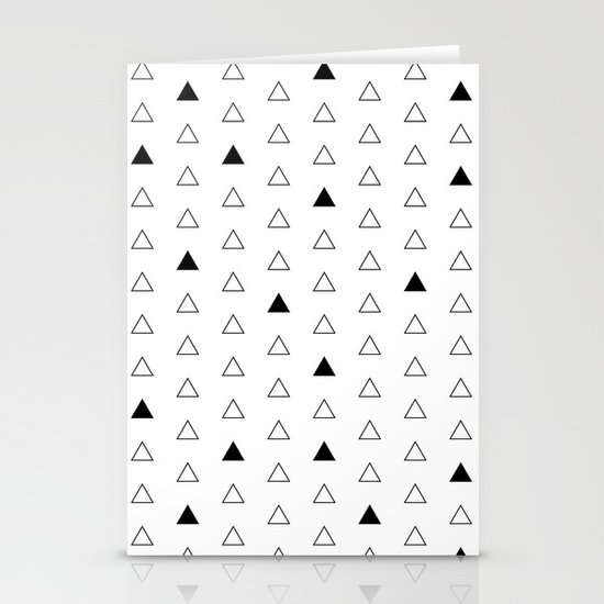 Little Triangles  Stationery Cards