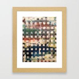 trip check  Framed Art Print
