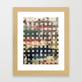 trip check  Framed Art Print