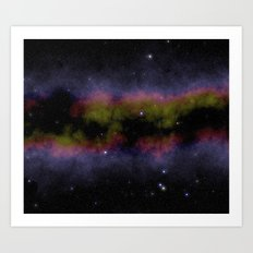 Space dust Art Print