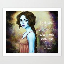 Sparrow- Only Me Art Print