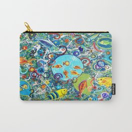 Fish Party Carry-All Pouch