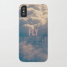 Fly Higher Slim Case iPhone X