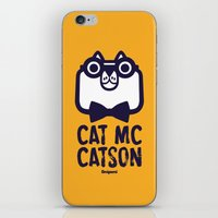 Cat Mc Catson iPhone & iPod Skin