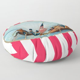 War of Independence Floor Pillow