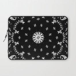 Bandana - Black   Laptop Sleeve