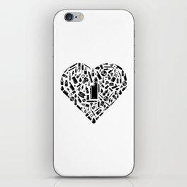 I Love Vape | Vaping Vaper E-Cigarette Liquid iPhone Skin