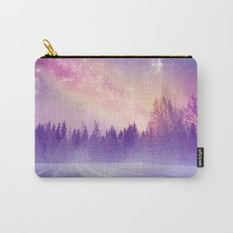 Magic of winter night Carry-All Pouch