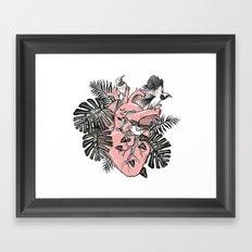 Wild Heart Framed Art Print