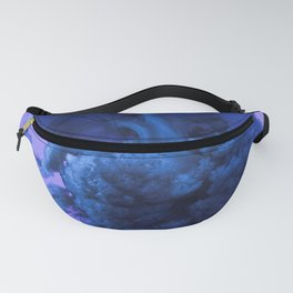 Jellyfish Photography Ocean Art Pop Art Bright Happy Colourful Fanny Pack