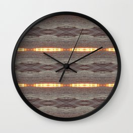 WaterMarkers Wall Clock