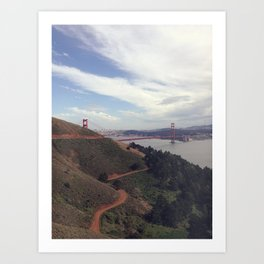 Marin Headlands Art Print