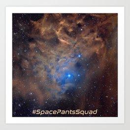 SPS Flaming Star Art Print