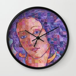 Variations On Botticelli's Venus – No. 2 Wall Clock