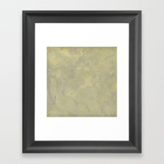 Modern Masters Metallic Plaster - Aged Gold and Silver Fox - Custom Glam Framed Art Print