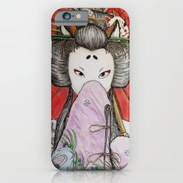 Kuzunoha iPhone Case