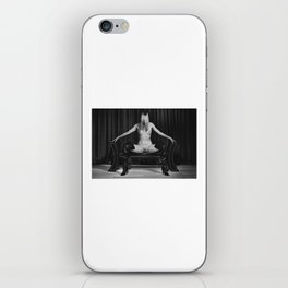 The nude Beauty - Nude woman in erotic pose iPhone Skin