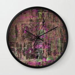 My Masterplan! [Recombinant Series 5] Wall Clock