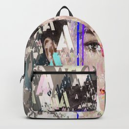 Audrey Type Abstract Art Backpack