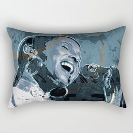 Simply smooth Rectangular Pillow