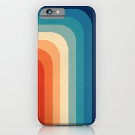 Retro 70s Color Palette III iPhone Case