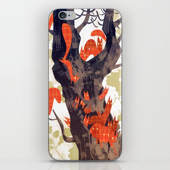 The Devils of Dark Bark iPhone & iPod Skin