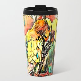 Budgie Love Travel Mug