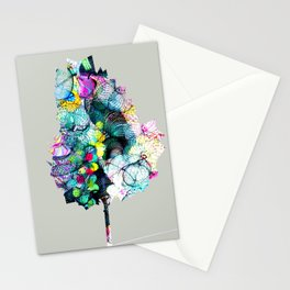 Fantasy Tree 18 by Leslie Harlow Stationery Cards
