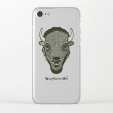 Great American West Clear iPhone Case