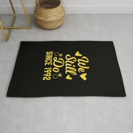 1992 Wedding Anniversary Gifts We Still Do Couple Gift Rug
