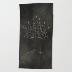 Lord of the Rings: Tree of Gondor Beach Towel