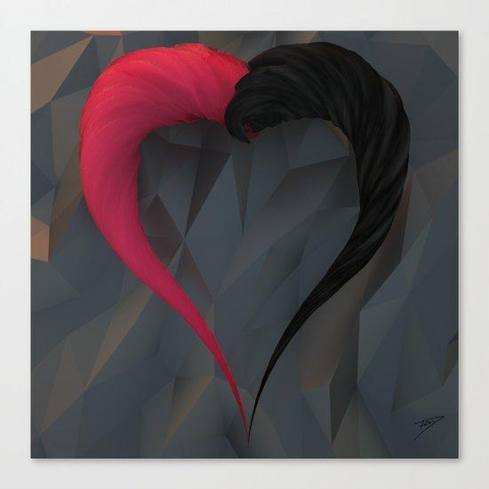 SU-bstance: Löve Canvas Print