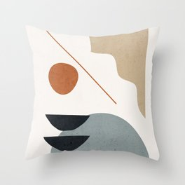 Abstract Minimal Shapes 29 Throw Pillow