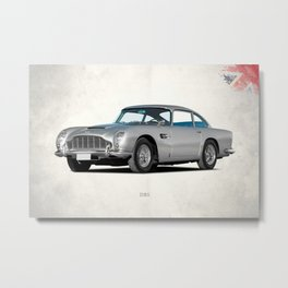 The DB5 Metal Print
