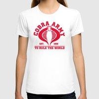 army T-shirts featuring Cobra army by CarloJ1956