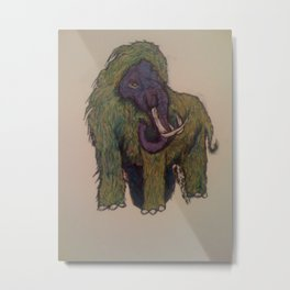 Wooly Mammoth Metal Print