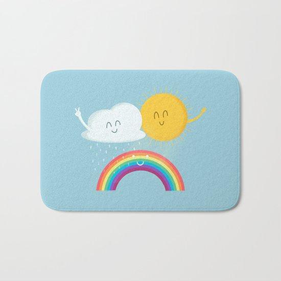 Rainbow's Family Bath Mat