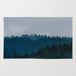 Blue Fog Rug
