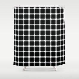 Optical illusions Shower Curtain