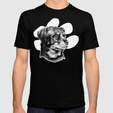 Rottweiler Devotion X-LARGE Mens Fitted Tee Black